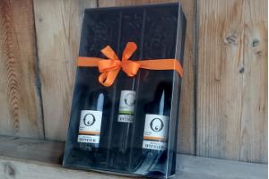Geschenkbox für 1,2,3 Flaschen Ottiger Weine