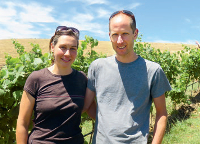Raphael und Christine Burki / Lime Hill Wines